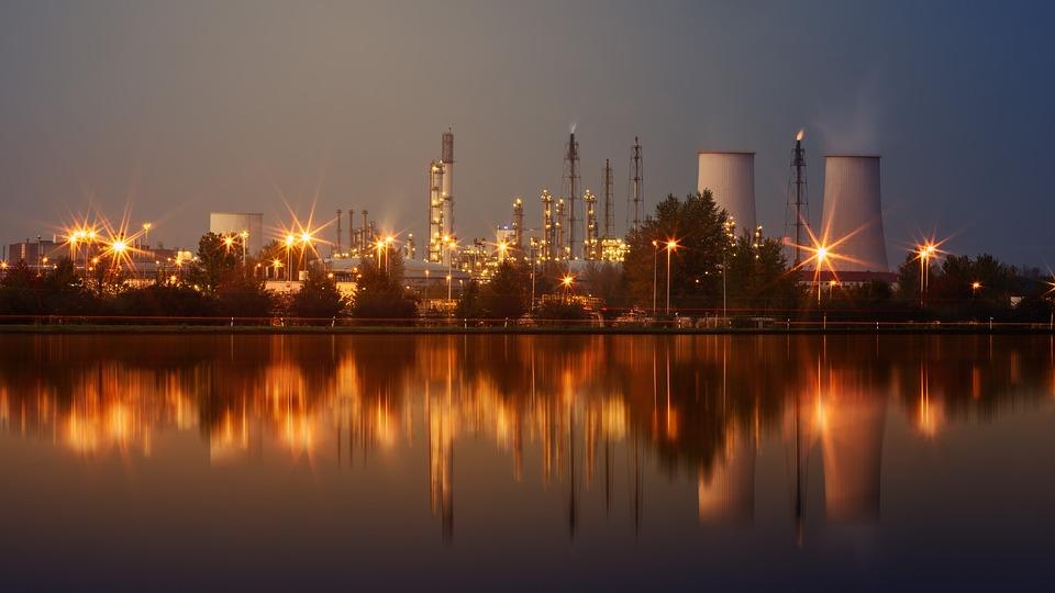 Petroleum Refinery.